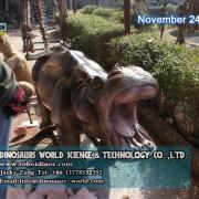 Animatronic Hippo 2
