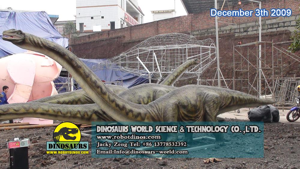 Animatronic Mamenchiosaurus