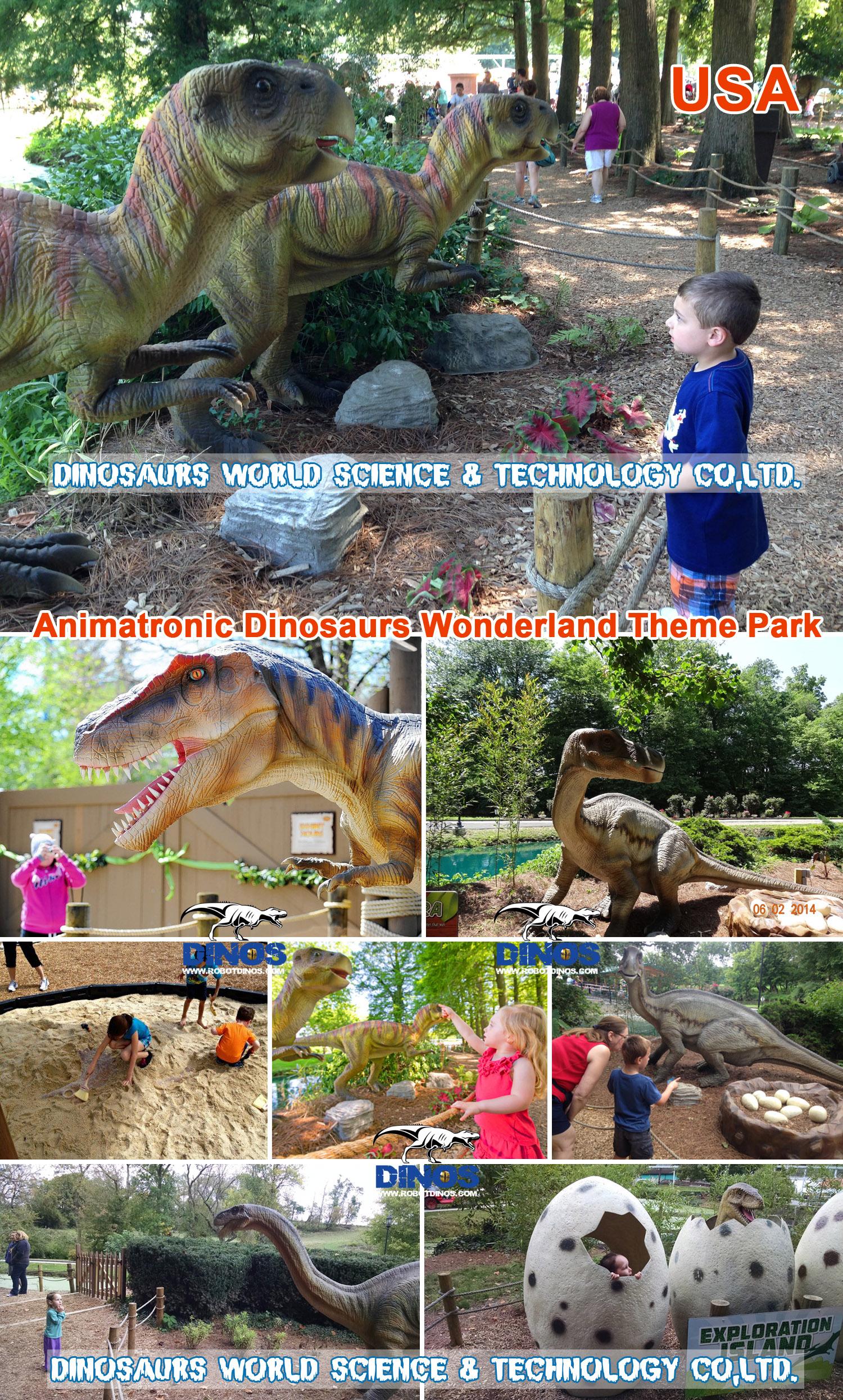amusement park dinosaur,pneumatic dinosaur,dinosaurs made by pneumatic,amusement park decoration,kids amusement park , Jurassic Park