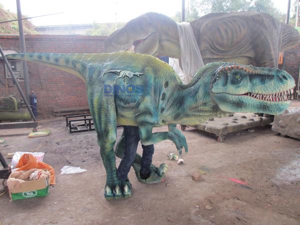 dinosaur puppet,walking with dinosaur costume,walking with dinosaur puppet