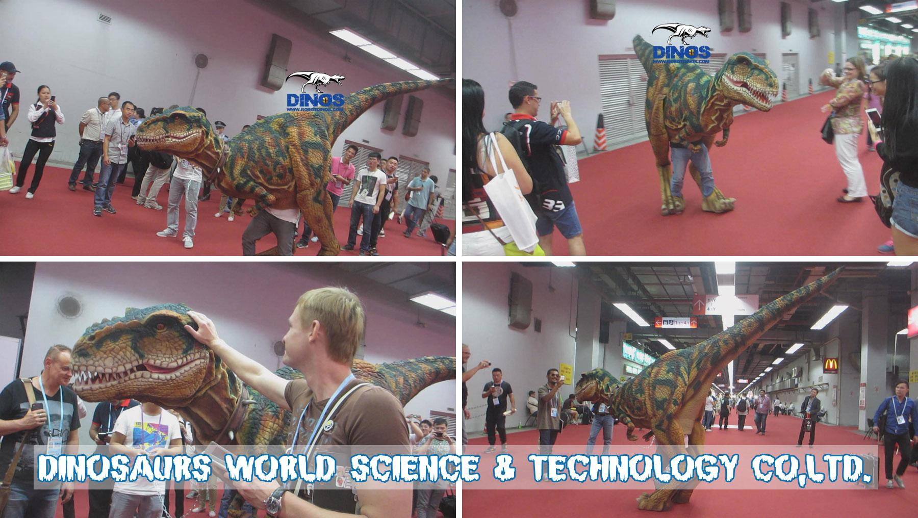 walking dinosaur puppet,dinosaur costume,animatronic dinosaur costume,robotic dinosaur puppet