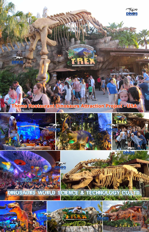 animatronic dinosaur,dinosaur skeleton replica,theme restaurant dinosaurs,dinosaurs attraction,dinosaurs event,jurassic park dinosaurs,animatronic T-rex