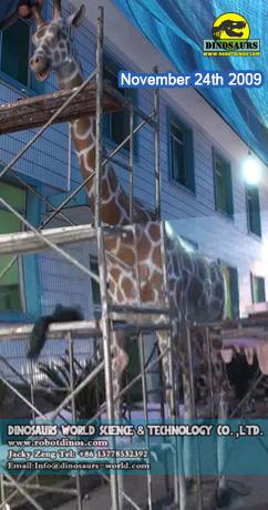 Animatronic Giraffe Factory 2009-11-24