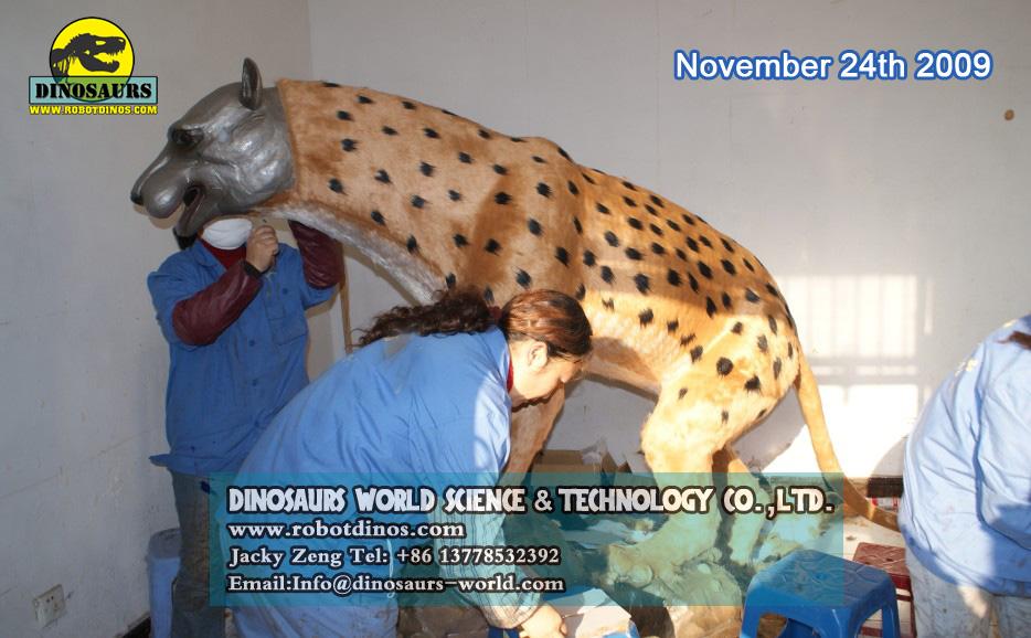 Animatronic Leopard