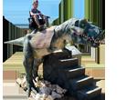 Dinosaur Rides