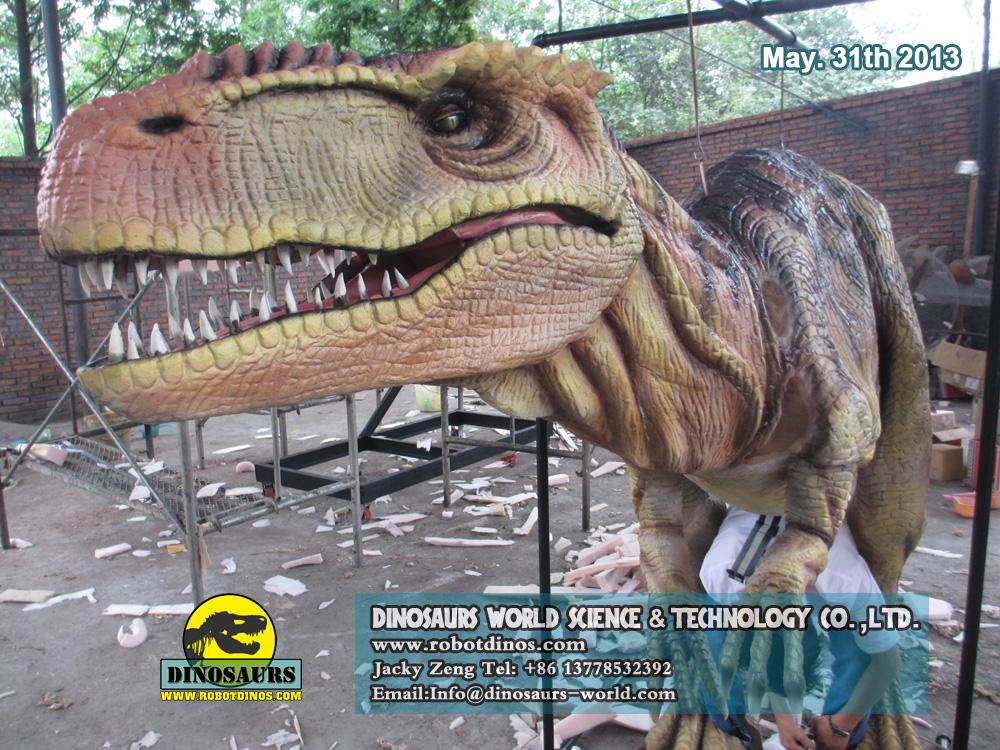 Amazing Life Size Walking Dinosaur Clothes
