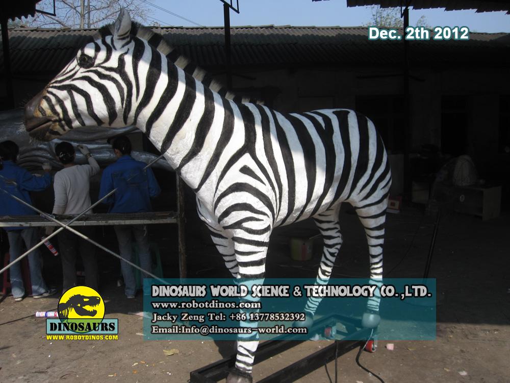 Animatronic Animal Zebra
