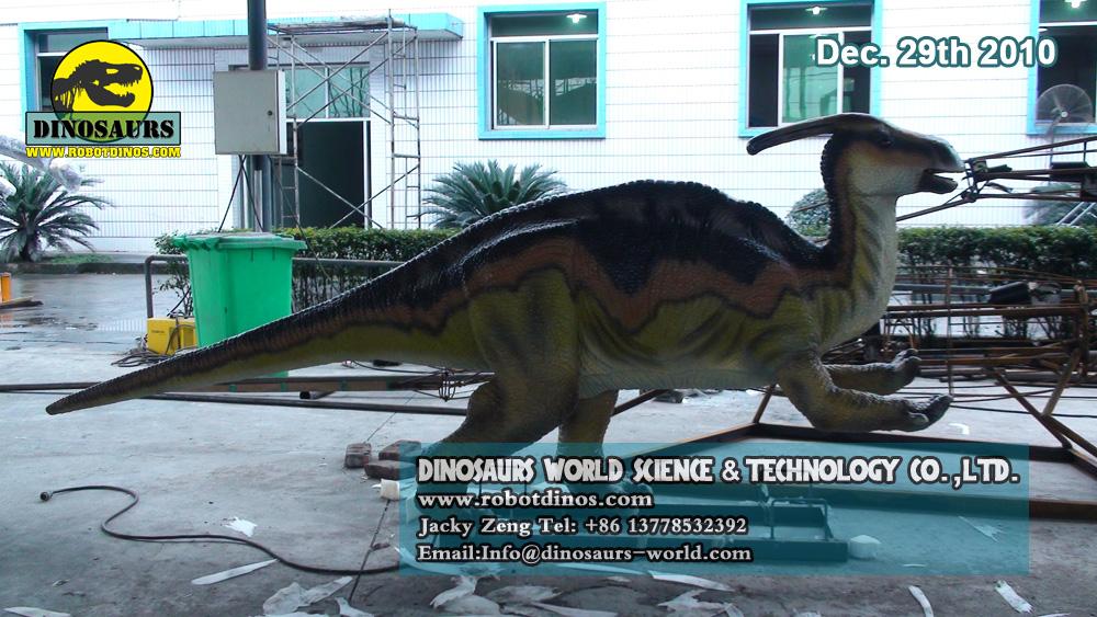 Animatronic Dinosaur PARASAUROLOPHUS