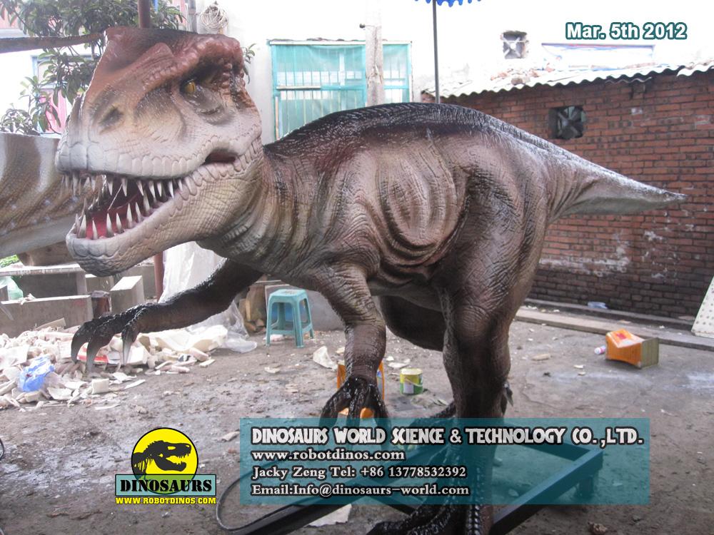 DWD078 Animatronic Dinosaur Utahraptor