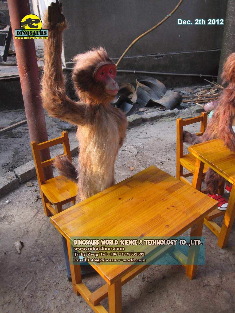 Fiberglass Animal Monkey