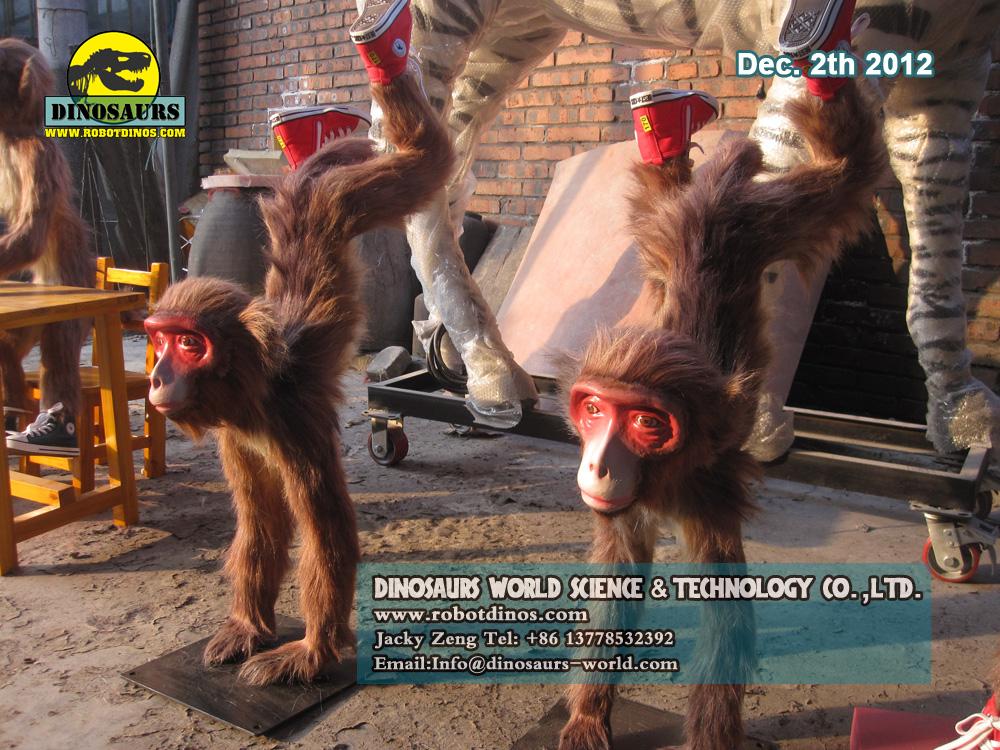 Fiberglass Animal Monkeys