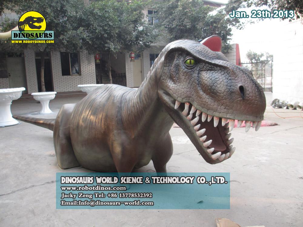 Fiberglass T-Rex Ride