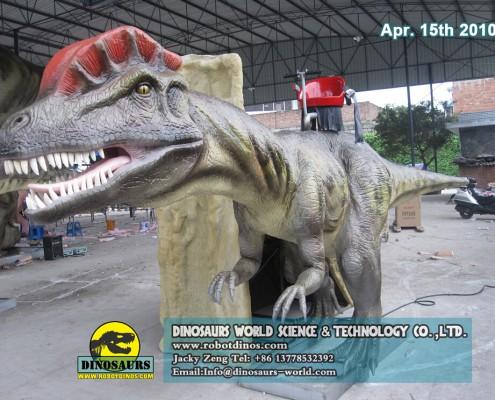 Hot Sale Animatronic Dinosaurs Rides 2