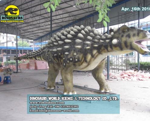 DWD1339 Animatronic Dinosaur Ankylosaurus