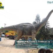 Man Made Fiberglass Dinosaur Titanosaurus