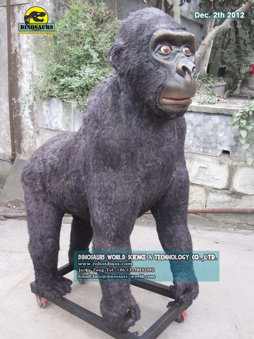 Realistic Life Size Animal Gorilla