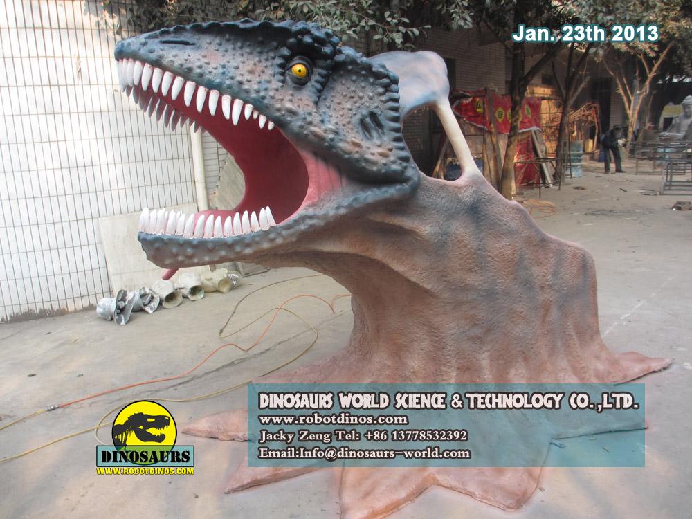 T-Rex Head For Kids Climb