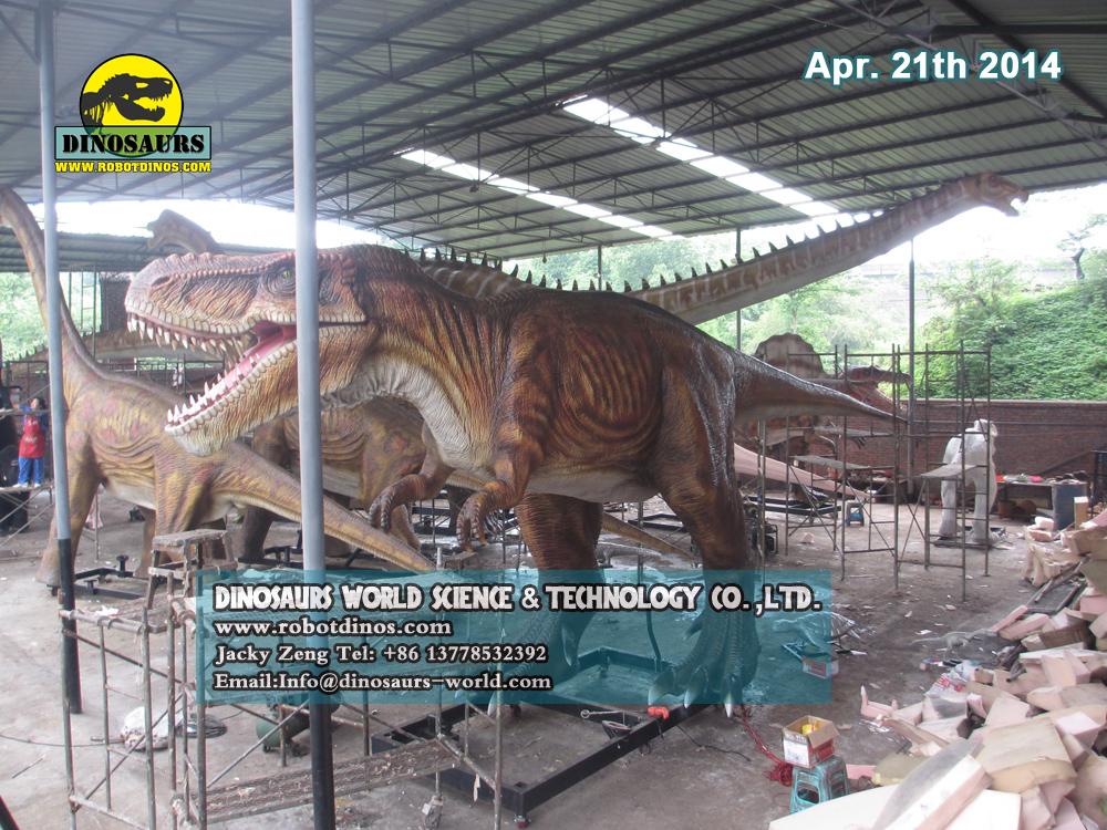 12m long Robotic T-Rex