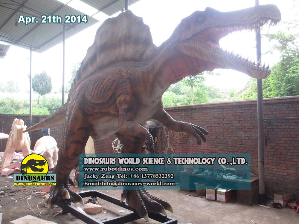 Alive Looking Animatronic Dinosaur Spinosaurus
