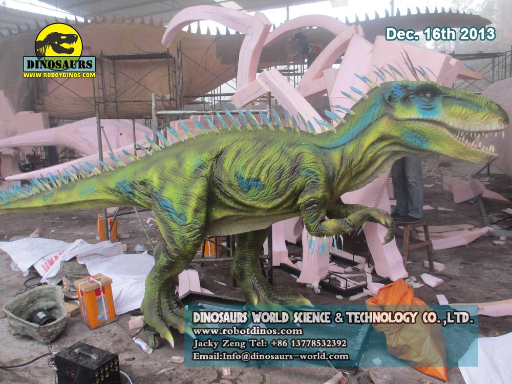 Alive Looking Dinosaur Ornitholestes