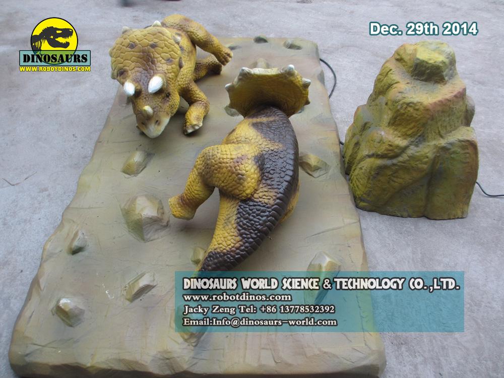 Animatronic Baby Triceratops