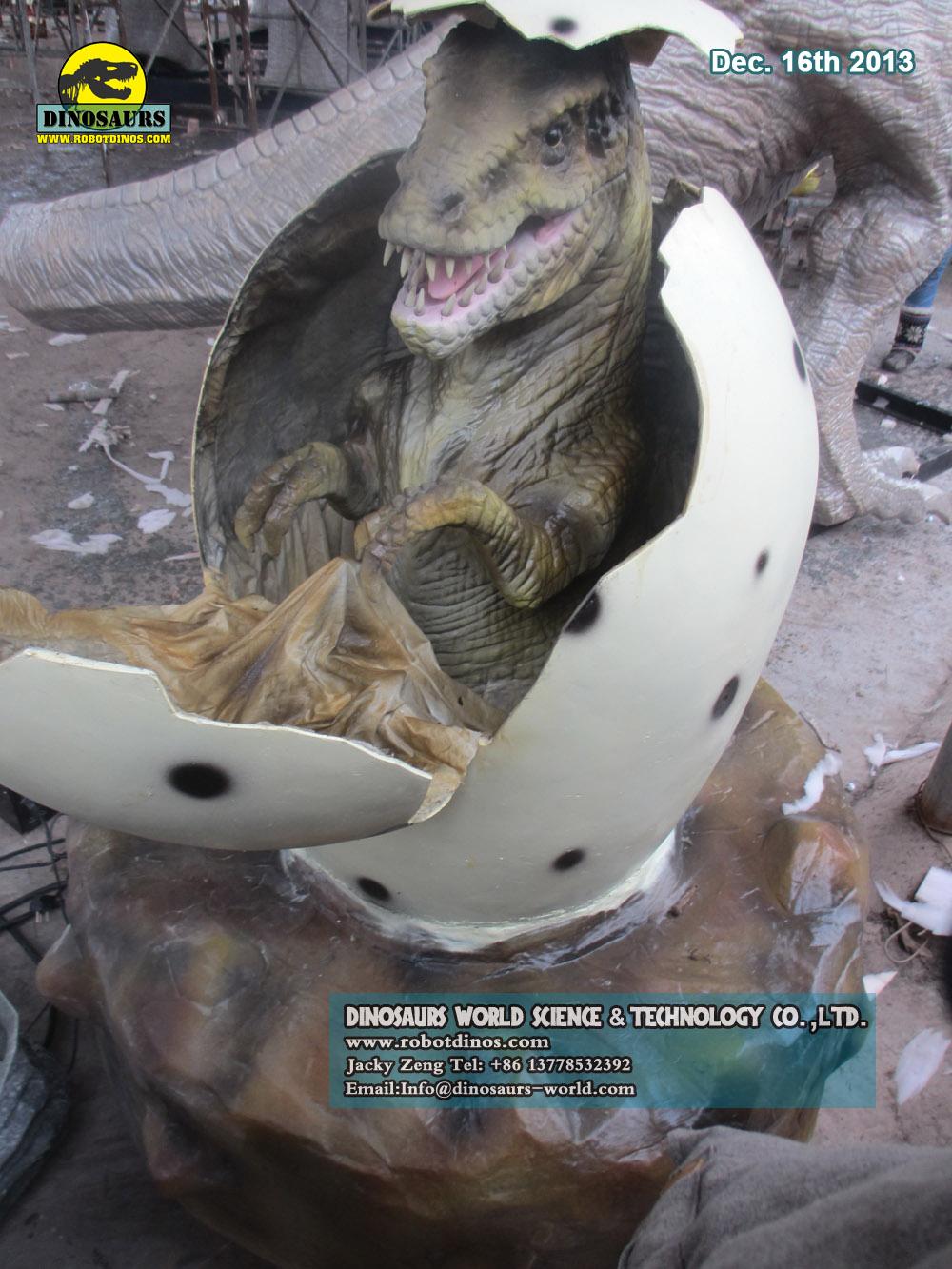 Animatronic Dinosaur Egg
