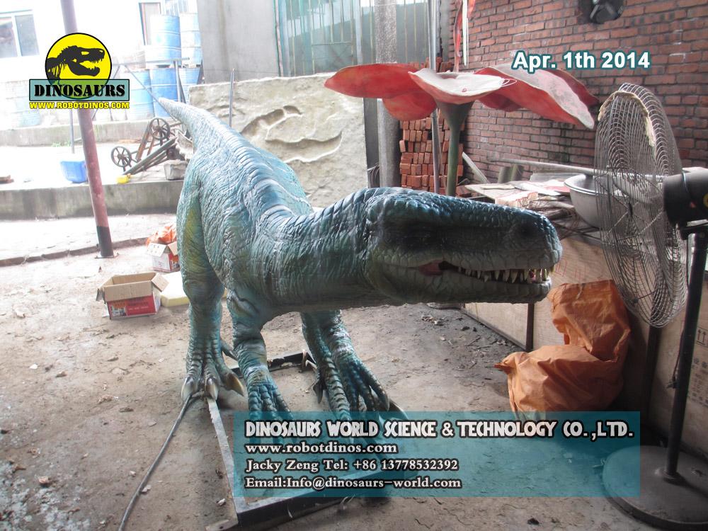 Animatronic Dinosaur Herrerasaurus