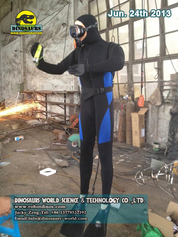 Animatronic Diver