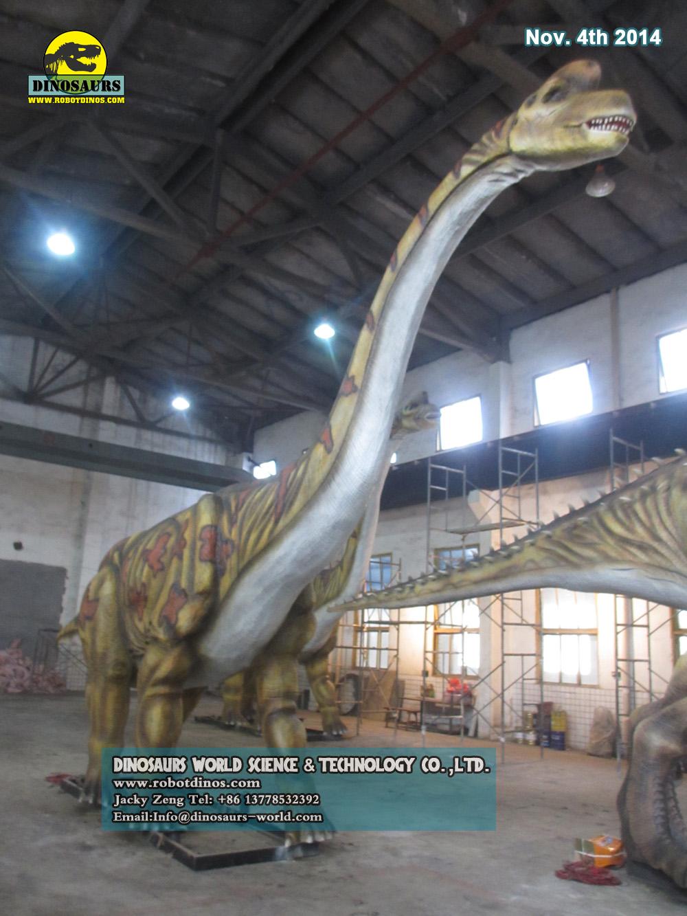Big Animatronic Dinosaur Brachiosaurus