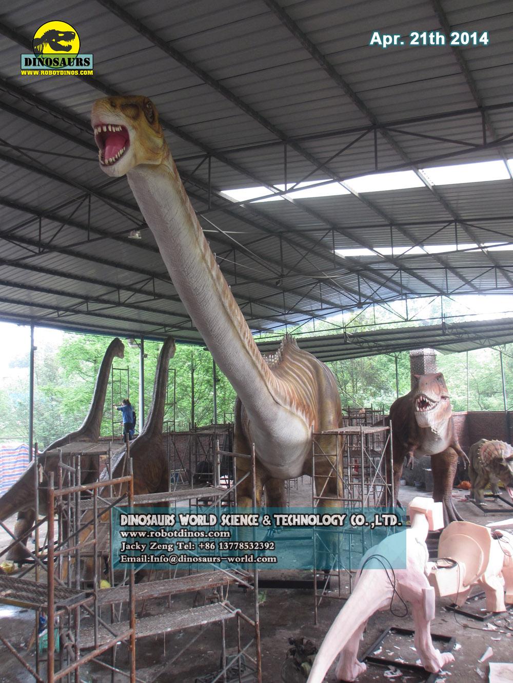 DWD1329-2 Big Diplodocus Realistic Dinosaur