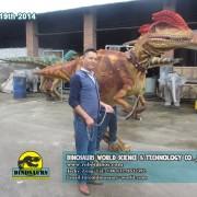 Dilophosaurus Dinosaur Costume