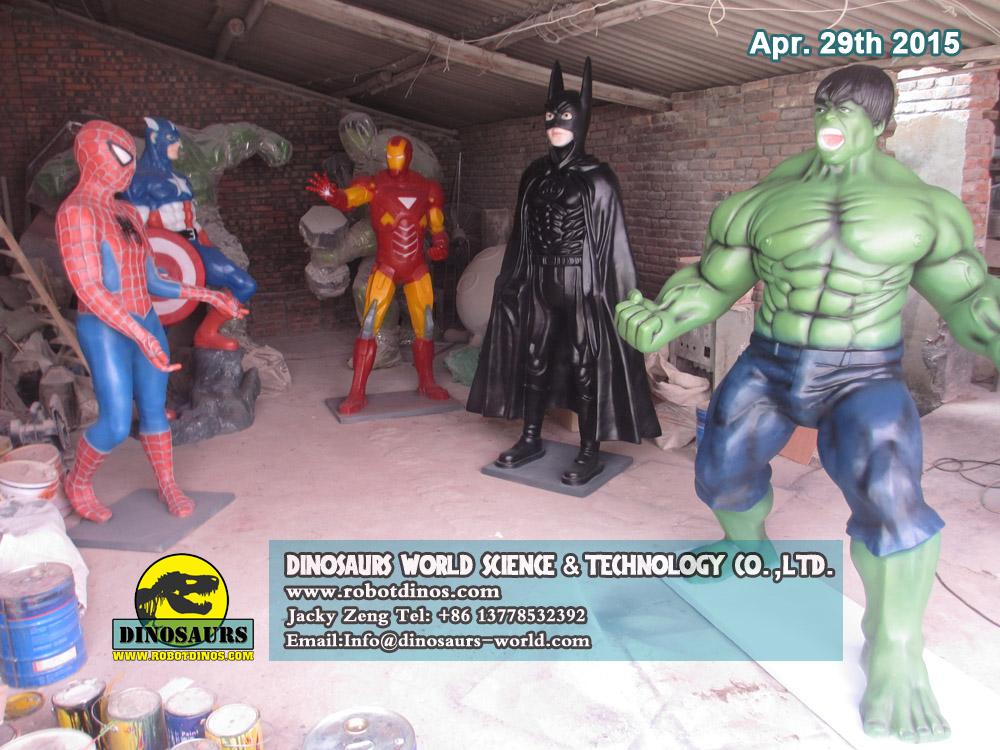 Fiberglass Comic Cartoon Statues