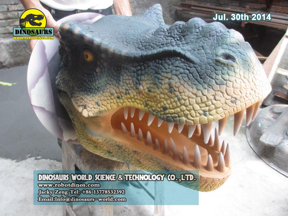 Fiberglass T-Rex  Head