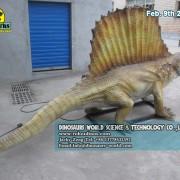 Hige Quality Animatronic Dinosaurs Dimetrodon