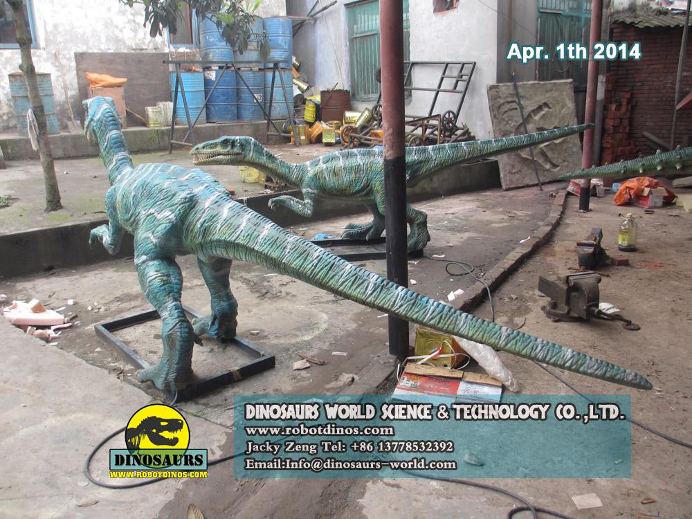 Life Size Animatronic Dinosaur Coelophysis