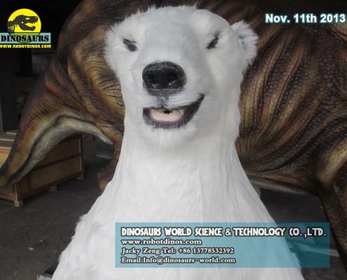 Life Size Polar Bear Model