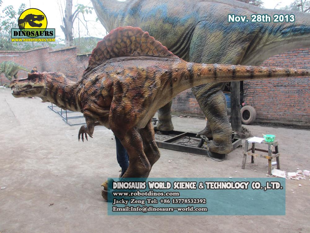 Man Inside Dinosaur Suit Spinosaurus