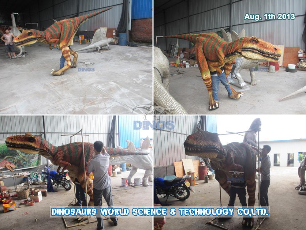 Old Version Dinosaur Costume Velociraptor