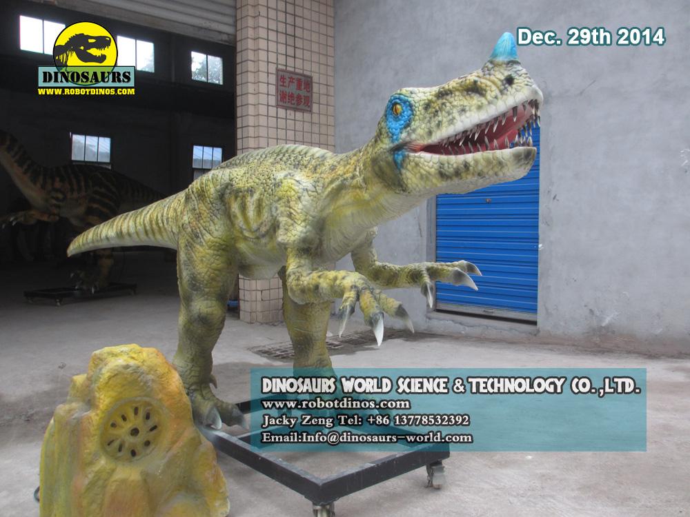 Realistic Man Made Ornitholestes