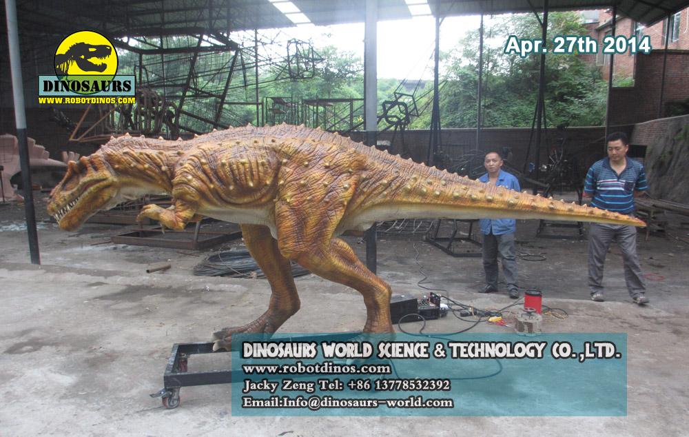 Robotic Dinosaur Albertosaurus