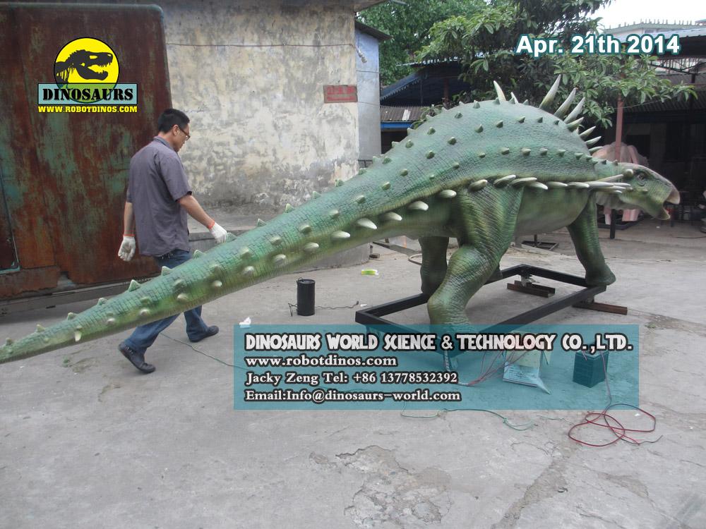 Simulation Dinosaur Polacanthus