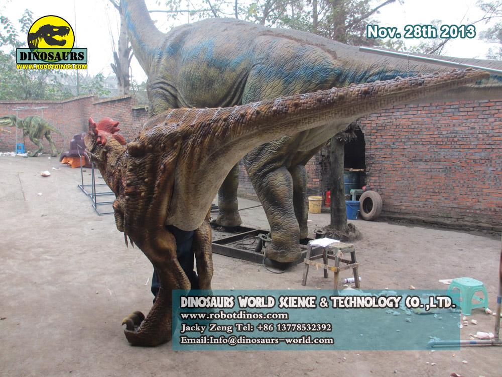 Walking Dinosaur Puppet Dilophosaurus
