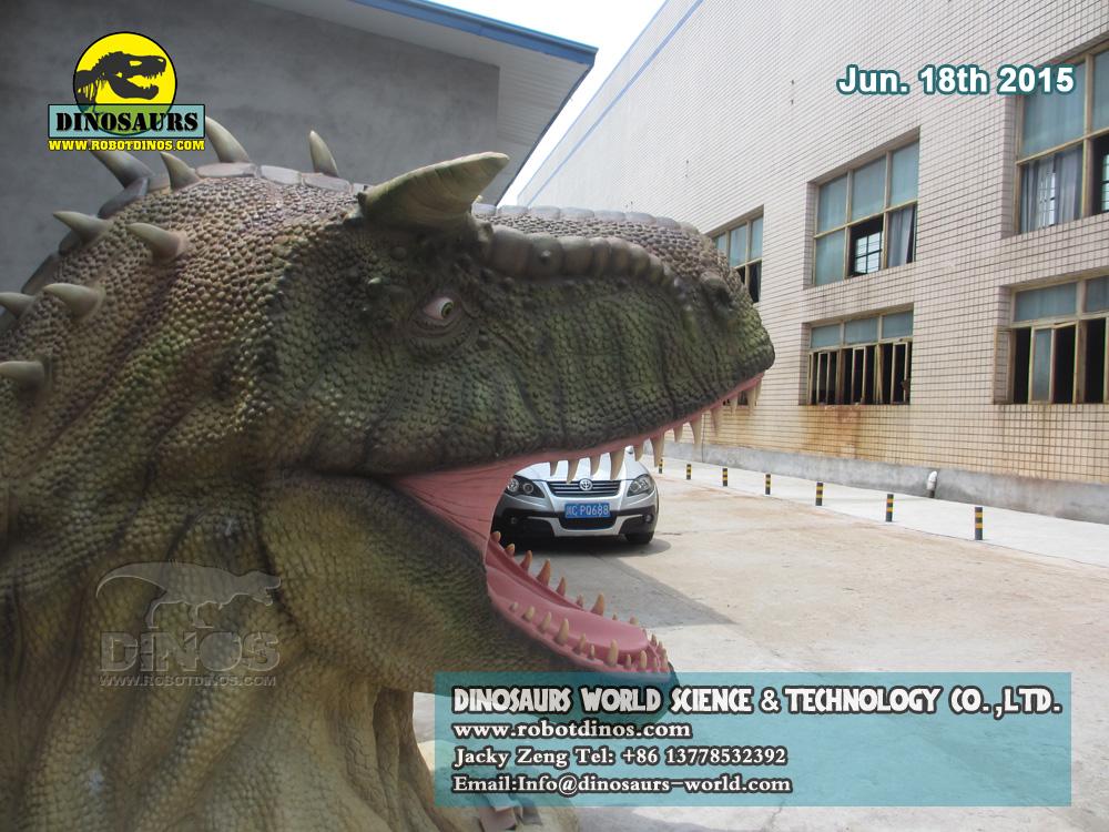 Fiberglass Dinosaur Head