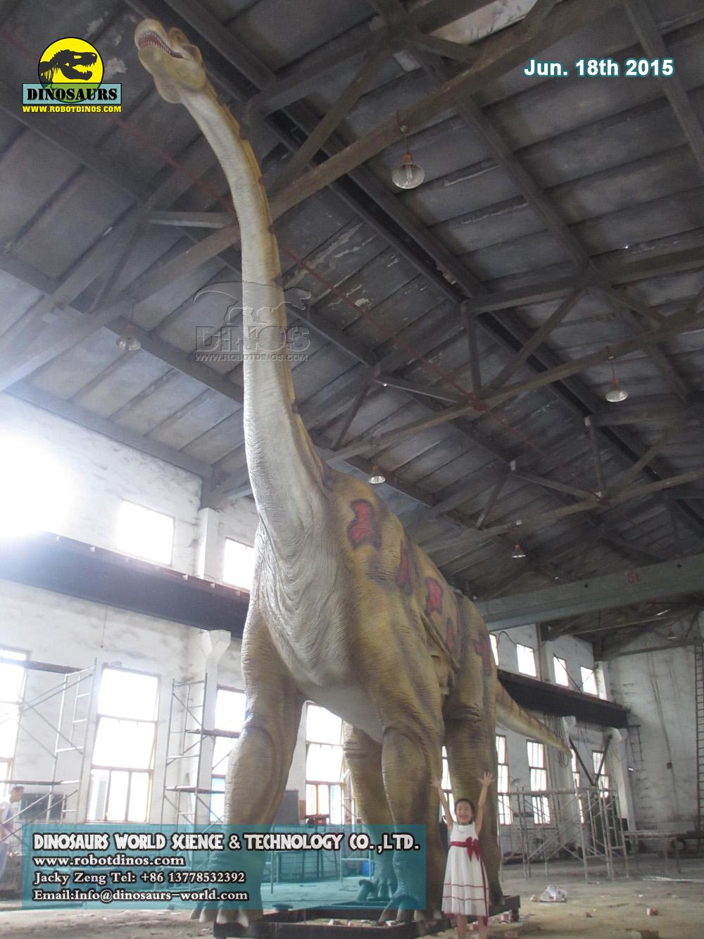 Huge Brachiosaurus