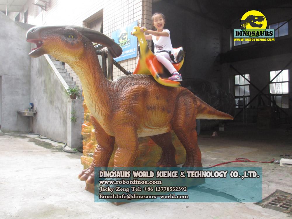 Kids Dinosaur Parasaurolophus Ride