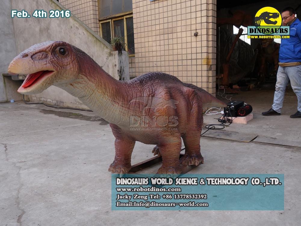DWD2124 Cute Animatronic Baby Apatosaurus